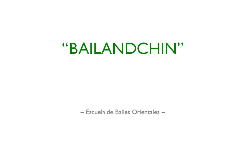 Bailandchin - Escuela de Bailes Orientales